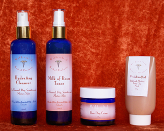 Natural Skin Care System for Sensitive Skin
