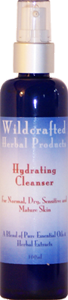 Hydrating Cleanser is a natural facial cleanser for normal to dry skin.