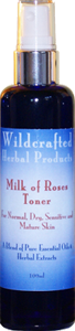 Milk of Roses Toner for Dry, Sensitive and Mature Skin Types
