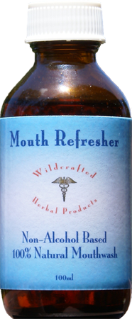 100% natural non-alcohol base Mouthwash